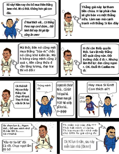Truyện đoạt giải tuần 1: Lý do Navas sang Real