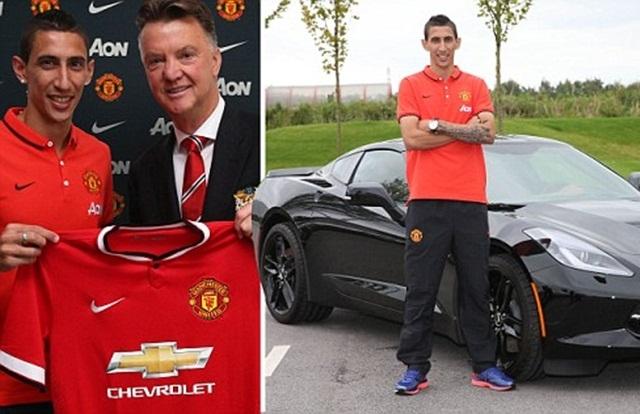 Di Maria trở thành chữ ký thứ 4 của Man United dưới triều đại Louis van Gaal