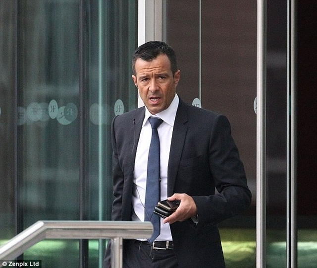 """Người đại diện Mendes, """"kiến trúc sư"""" cho thương vụ để Di Maria rời Real Madrid gia nhập Man United"""