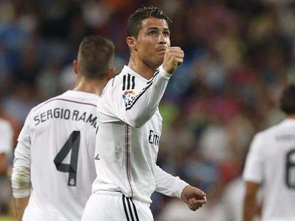 Ronaldo ghi bàn vào tất cả các đội bóng đối đầu với Real kể từ khi anh đặt chân đến Bernabeu (Ảnh: Getty)