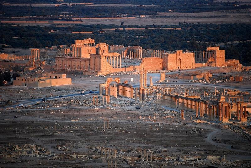 Vẻ đẹp bất ngờ của vùng đất bom đạn Syria