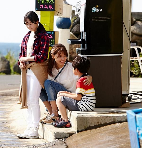Nhân vật Bomi thay người vợ quá cố chăm sóc cho hai đứa con của Dong Ha