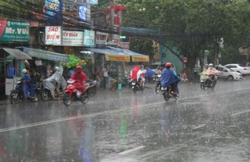 Thời tiết 4 ngày nghỉ lễ: Mưa dông diện rộng trên cả nước