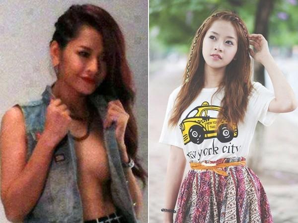 Là hot girl đình đám hàng đầu kiêm vai trò của một fashion icon trong mắt giới trẻ, Chi Pu cũng không cưỡng lại được sức hút của những bộ cánh gợi cảm và lối trang điểm đậm.