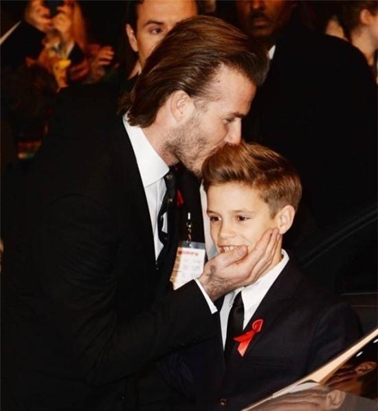 Beckham rất yêu thương nhưng cũng có lúc nghiêm khắc khi cần dạy dỗ con cái.