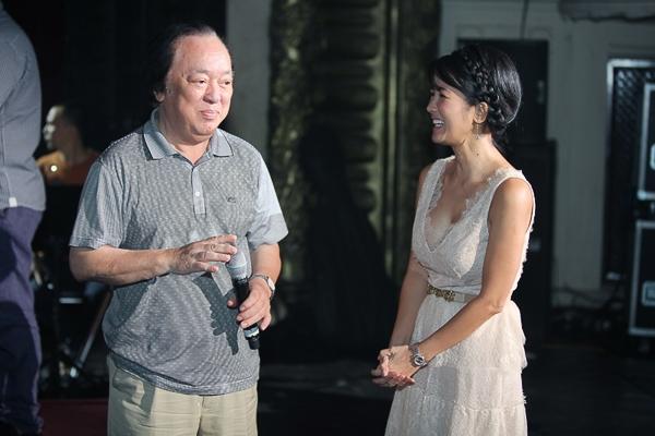 Hồng Nhung và NSND Trung Kiên - bố của nhạc sĩ Quốc Trung - Tin sao Viet - Tin tuc sao Viet - Scandal sao Viet - Tin tuc cua Sao - Tin cua Sao