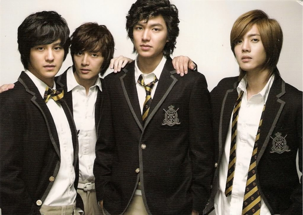 Đồng phục trong phim Boys Over Flower