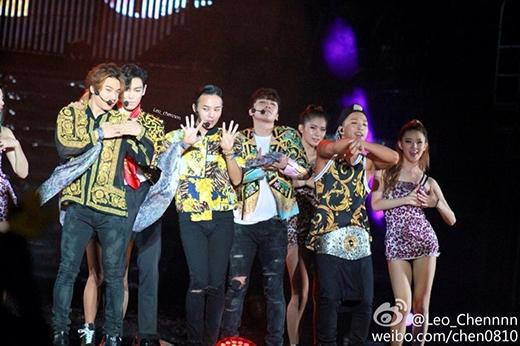 Big Bang trong concert YG Family được tổ chức tại Thượng Hải vào cuối tháng 8 vừa qua