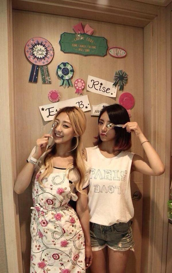 RiSe và EunB - một tình bạn vĩnh cửu