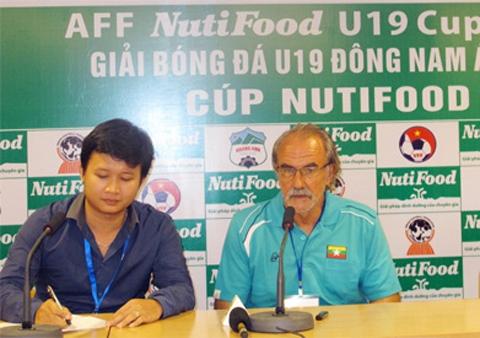 LV Gerd Ziese đang biến U19 Myanmar thành đội bóng rất đáng gờm