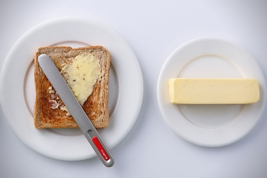 Loại dao cắt bơ mới với công nghệ nhiệt năng đột phá