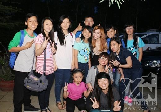 Sĩ Thanh và các bé trong fanclub đã có một chuyến đi hết sức ý nghĩa.
