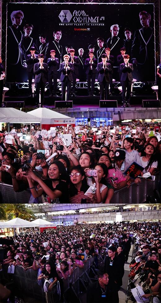 \ Hàng ngàn fan đã đến tham dự buổi họp báo của EXO vào ngày 12/9 vừa qua