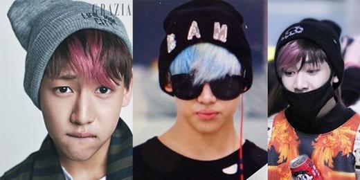 """Là em út của GOT7, Bam Bam thích diện mũ beanie rất giống với tính cách trẻ con của mình. Anh đã khiến nhiều fan """"ngất ngây"""" với phong cách đơn giản và không kém phần cá tính của mình."""