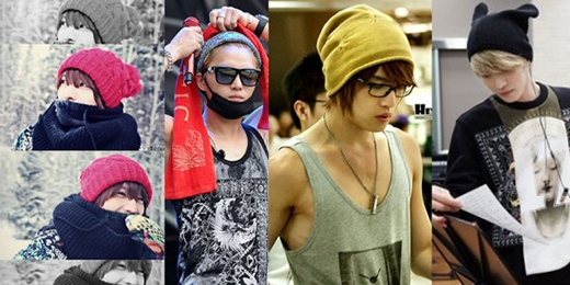 """Jaejoong sở hữu một gương mặt """"đẹp hơn hoa"""" và càng khiến các fan mê mẩn hơn khi diện mũ beanie."""
