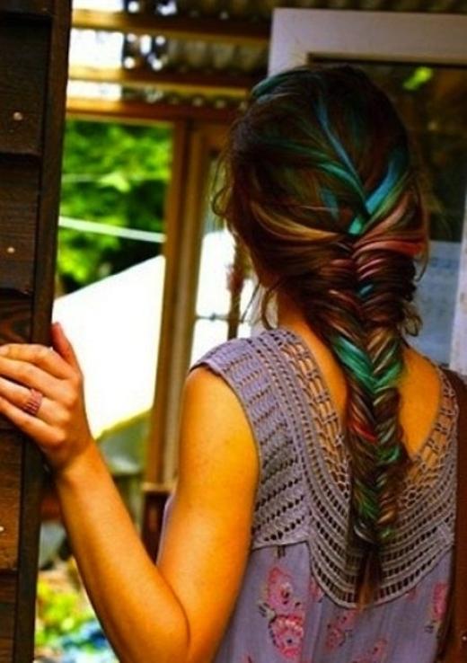 """""""Thiên biến vạn hóa"""" với tóc tết"""