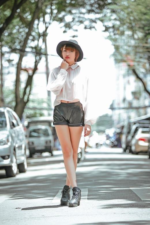 Trong sáng tiết thu với hình ảnh mới của Lương Minh Trang