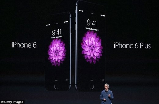 iPhone 6 Plus bị châm biếm do dễ bị uốn cong