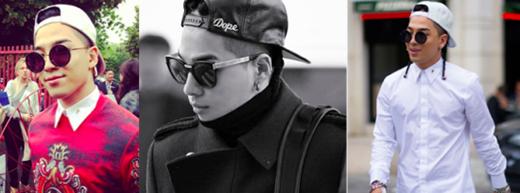 Taeyang không bao giờ sợ thử nghiệm đối với mái tóc của mình. Tuy nhiên Taeyang cũng khiến các fan phải trầm trồ rằng, anh diện nón snapback cũng không bao giờ là không phong cách.
