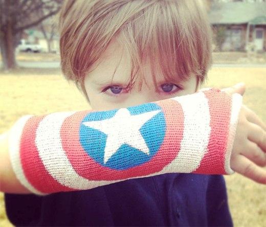 Captain America cũng xuất hiện