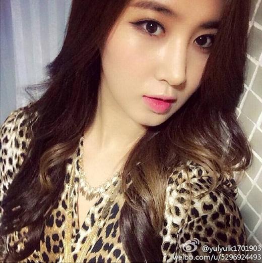 Yuri khoe hình cực quyến rũ và thông báo với fan rằng cô cũng sở hữu tài khoản weibo