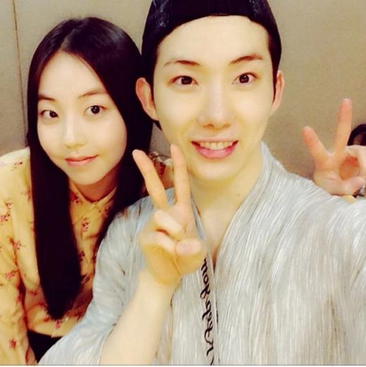 Sohee cực nhắng nhít bên Jokwon