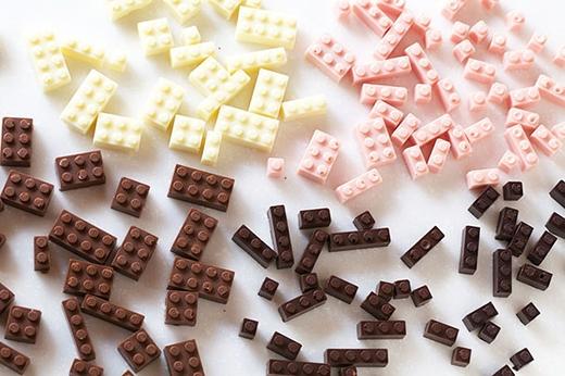 Một bộ chocolate dành đặc biệt cho những tín đồ thích chơi lắp ráp Lego