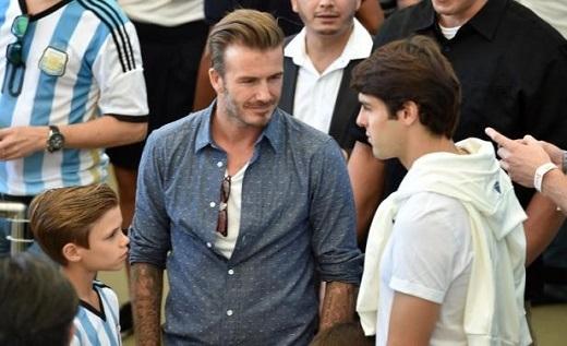 Kaka vượt Beckham về khoản kiếm tiền tại giải MLS.