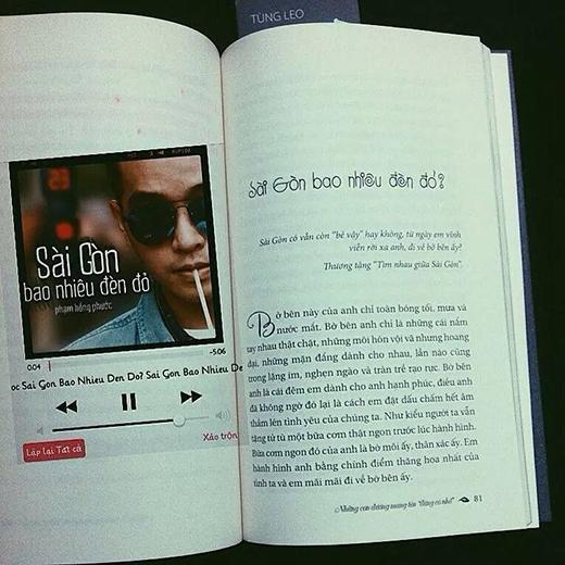 """Với tình yêu dành cho Sài Gòn, Tùng Leo muốn đem cả Sài Gòn ra đến Hà Nội. Mong muốn đem được những tình cảm trong quyển sách """"Những con đường mang tên ĐỪNG CÓ NHỚ"""" đến gần hơn với đọc giả thủ đô."""