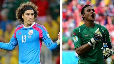Ochoa và Navas, những người hùng World Cup giờ trở thành dự bị chuyên nghiệp