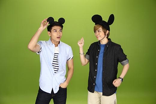 Nhưng Gil Lê cũng phấn chấn không kém khi được hóa thành nhân vật Disney mà mình yêu mến.