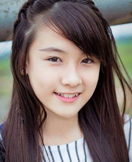 Bức ảnh xinh xắn của cô gái nhận được sự quan tâm của dân mạng.