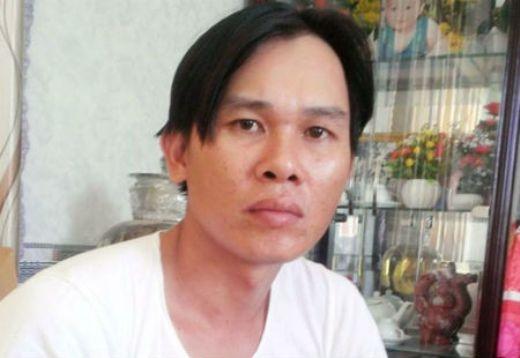Anh Hồ Văn Vệ, người viết lá đơn.