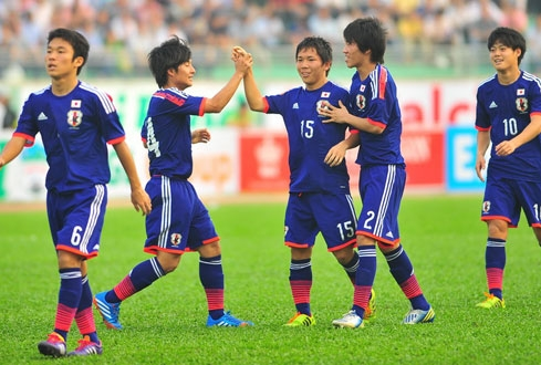 Nhật Bản nhiều lần về nhì tại các VCK U19 châu Á