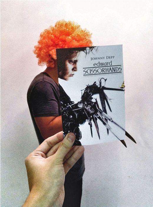 Bộ tóc giỏ lại vô cùng phù hợp với poster phim