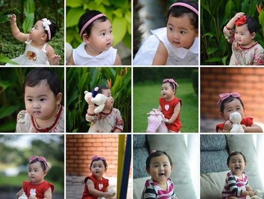 Chỉ mới đây khi bé Panda được gần một tuổi, cô mới quyết định khoe con của mình với công chúng.