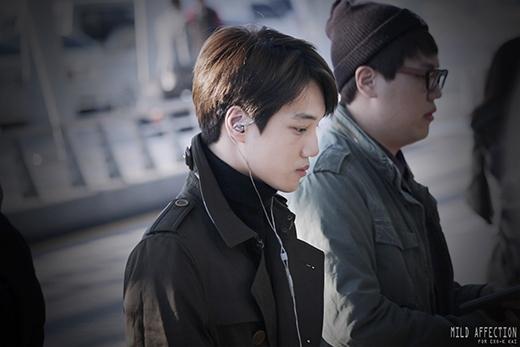 Kai tại sân bay Incheon sáng nay 17/10