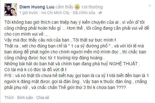Hoa hậu Diễm Hương cũng bức xúc với phát ngôn của Yanbi - Tin sao Viet - Tin tuc sao Viet - Scandal sao Viet - Tin tuc cua Sao - Tin cua Sao