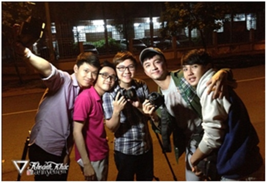 Nhóm Seventeen Production hội tụ những bạn trẻ đam mê làm phim.