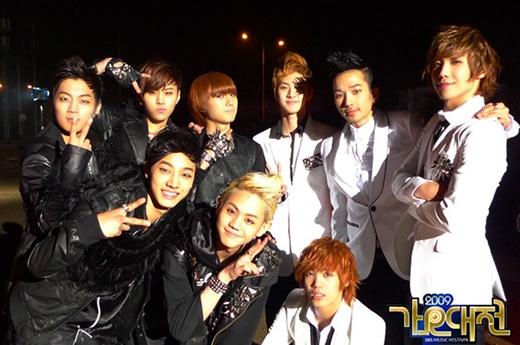 Beastvà MBLAQ là hai nhóm nhạc rất thân với nhau