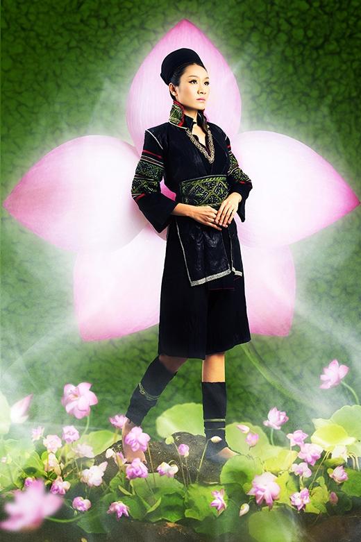 Ca sĩ Minh Thư - Dân tộc H'Mông đen
