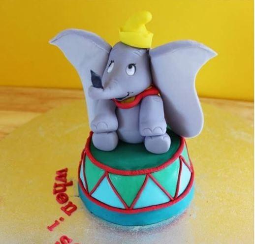 Chú voi con cực cute Dumbo đây mà