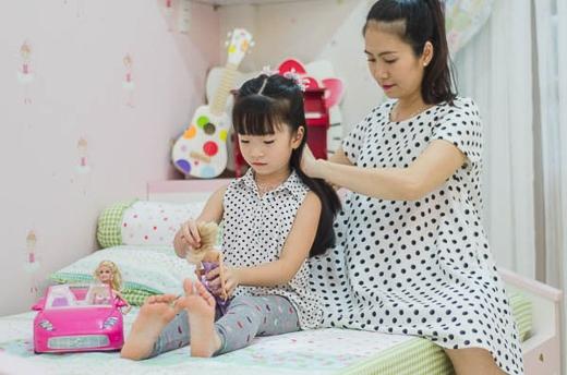 Cô muốn khi có em, Dâu sẽ sớm tự lập và sau đó có thể ý thức làm gương cho em của mình.