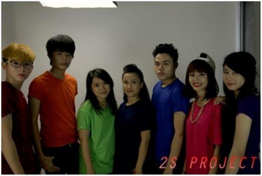 Nhóm bạn trẻ tham gia 2S Project
