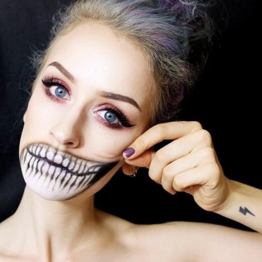 8 kiểu hóa trang kinh dị cho ngày Halloween
