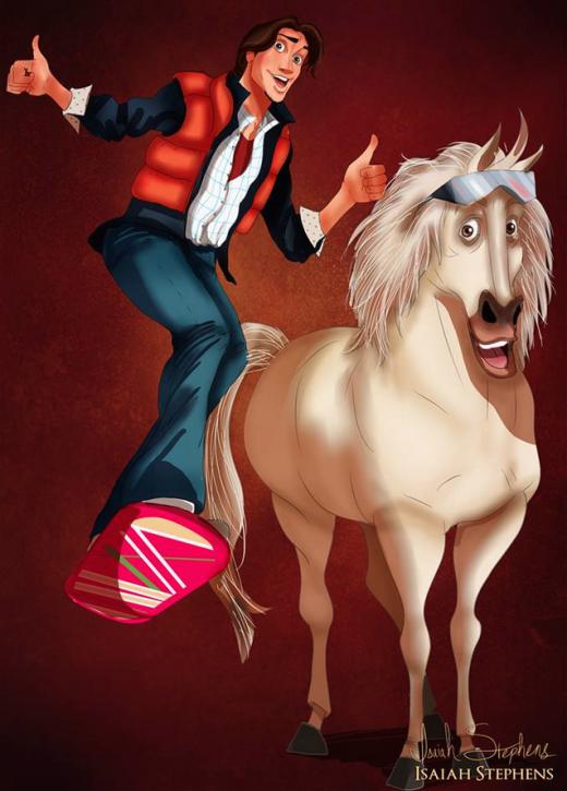 """Ngắm các nhân vật Disney hóa trang Halloween cực """"ảo diệu"""""""