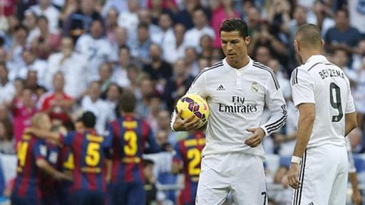 Real Madrid đã có màn ngược dòng ngoạn mục trước Barcelona
