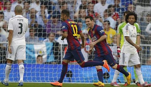 Neymar mở tỷ số cho Barca từ rất sớm
