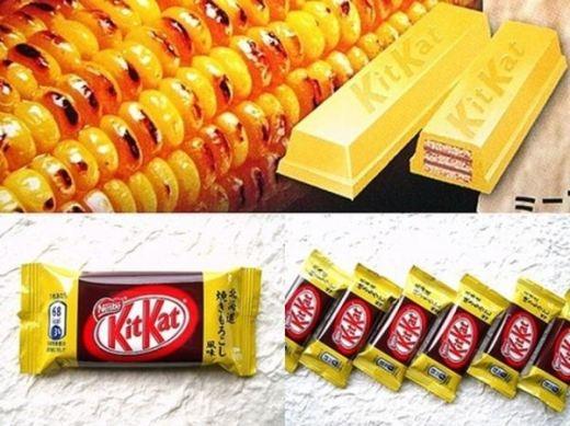 KitKat vị bắp nướng ở Nhật