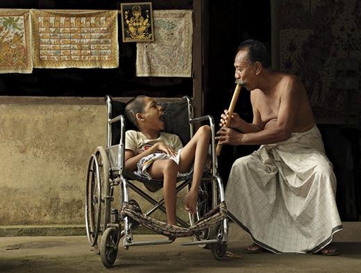 Một khoảnh khắc bình yên tại Bali